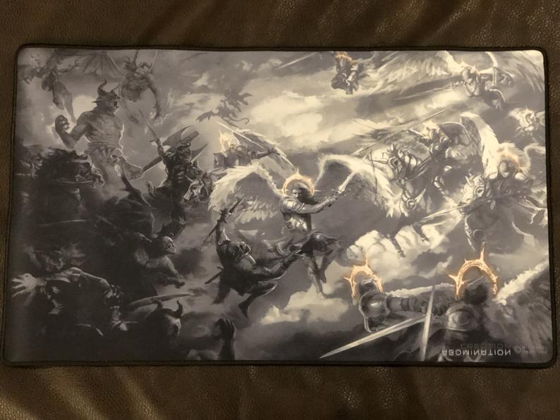 war in heaven game mat